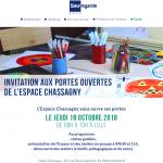 Agenda - Portes ouvertes à l'Espace Chassagny